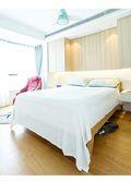 50平米公寓现代简约风格卧室图片大全