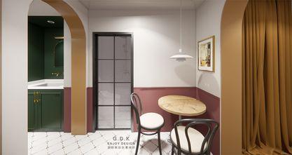 50平米公寓混搭风格餐厅欣赏图
