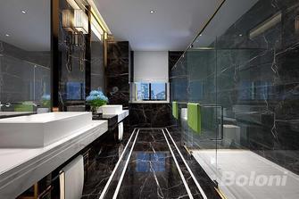 130平米三室两厅欧式风格卫生间图