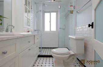 90平米三室一厅英伦风格卫生间图片