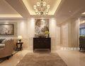 140平米三室两厅美式风格玄关装修案例