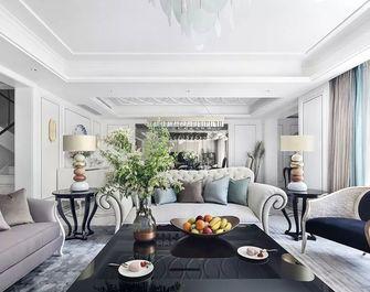 140平米四室三厅美式风格餐厅设计图