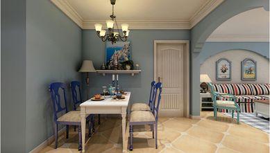 90平米三室一厅地中海风格餐厅欣赏图