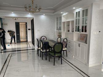 90平米三室两厅欧式风格餐厅效果图