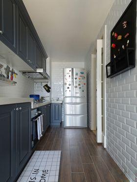 5-10万130平米三室两厅现代简约风格厨房图片大全
