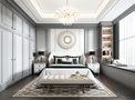 100平米三室三厅美式风格卧室图片