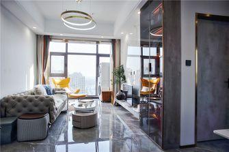90平米混搭风格客厅欣赏图