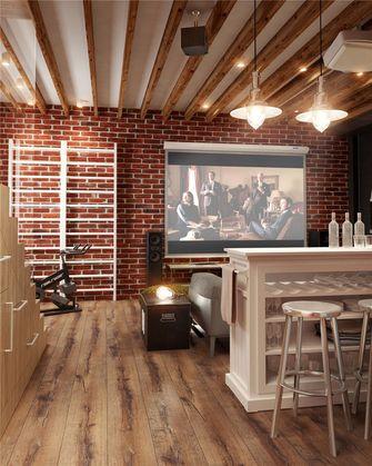 100平米三室一厅混搭风格影音室装修案例