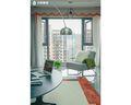 130平米三室一厅新古典风格阳台设计图