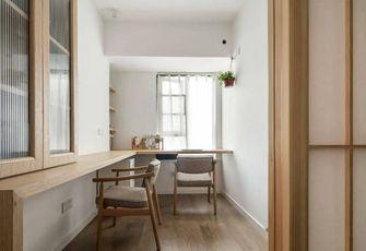 80平米三室两厅日式风格书房效果图