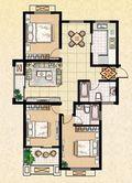 三房地中海风格效果图