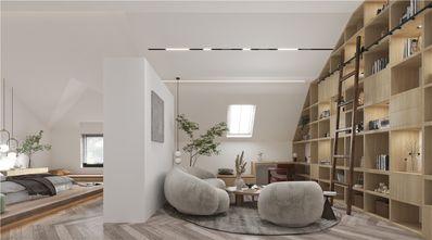 140平米复式现代简约风格阁楼欣赏图