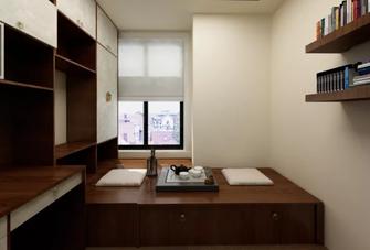 110平米公寓中式风格书房图片