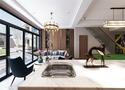 140平米别墅中式风格健身室图片