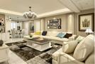 140平米公寓欧式风格客厅装修案例
