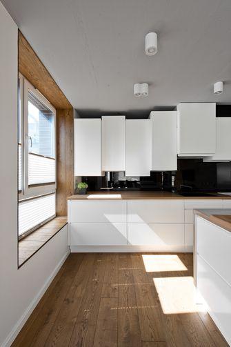 90平米一室一厅北欧风格厨房设计图