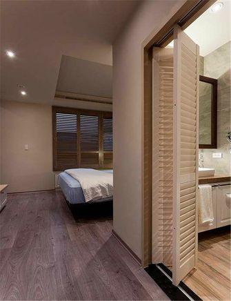 80平米英伦风格卧室图