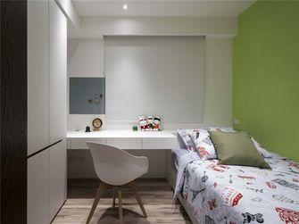 130平米四室一厅英伦风格卧室装修图片大全
