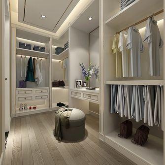 140平米三室两厅其他风格衣帽间图片
