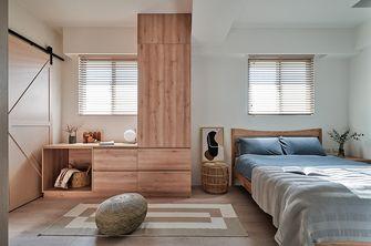 60平米复式混搭风格卧室装修效果图