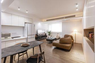 90平米一室两厅北欧风格客厅图片