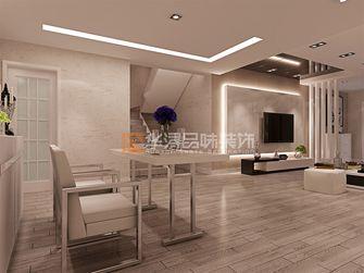 20万以上140平米复式现代简约风格客厅装修案例