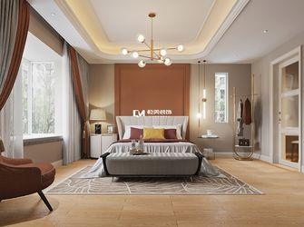 140平米别墅混搭风格卧室图