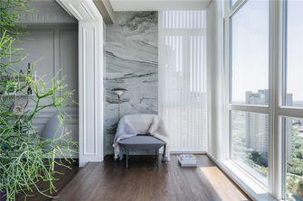 70平米三室一厅混搭风格阳光房图