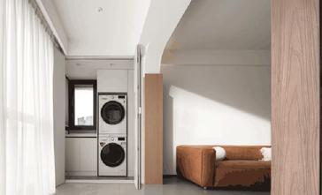 120平米三室两厅现代简约风格阳台设计图