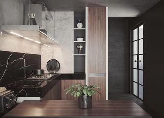 50平米一居室现代简约风格厨房设计图