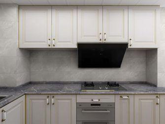 60平米公寓现代简约风格厨房图