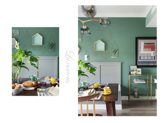 100平米四室两厅北欧风格餐厅欣赏图