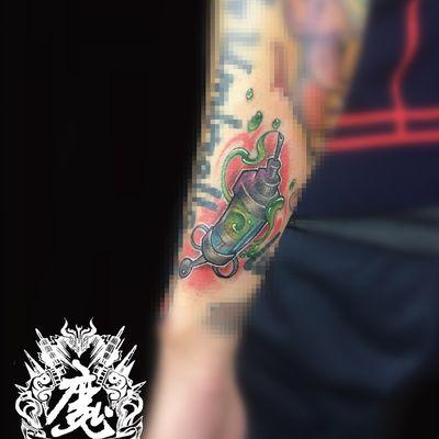 手臂纹身图