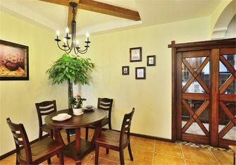 10-15万90平米三室三厅田园风格餐厅效果图