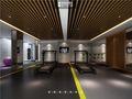 140平米别墅日式风格健身室设计图