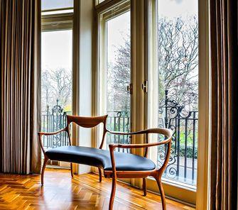 130平米三室两厅新古典风格阳台效果图