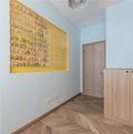 90平米三日式风格走廊图片大全