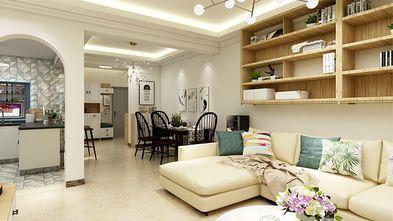 140平米三混搭风格客厅装修案例