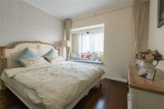 110平米三室两厅田园风格卧室装修效果图