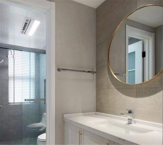 140平米四室一厅美式风格卫生间图