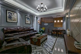 140平米新古典风格客厅图片大全