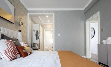 90平米三室一厅混搭风格卧室装修案例