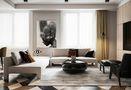 140平米三室两厅英伦风格客厅装修案例