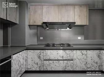 130平米三中式风格厨房装修图片大全