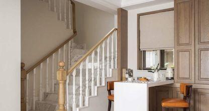 120平米三室两厅现代简约风格阁楼装修案例
