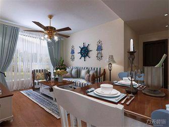 5-10万90平米三室三厅地中海风格卧室装修案例