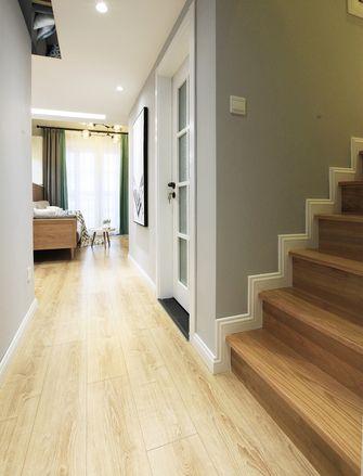 50平米复式田园风格楼梯间图片