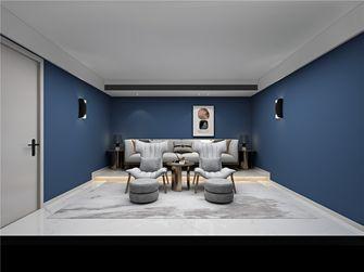 140平米复式现代简约风格影音室装修效果图