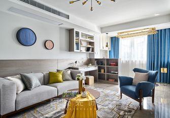 80平米现代简约风格客厅装修效果图