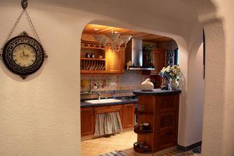 80平米复式田园风格厨房欣赏图